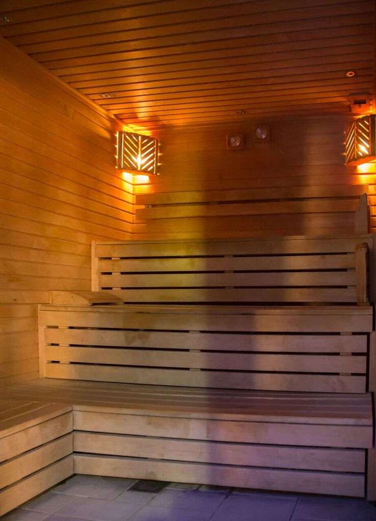 steam rooms at Greenwoods Hotel and Spa