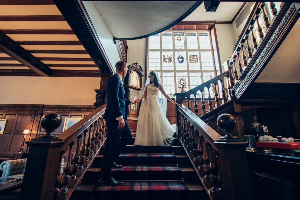 a selection of photographs from the wedding of Natalie and James at Holy Trinity Church and Greenwoods Hotel & Spa
