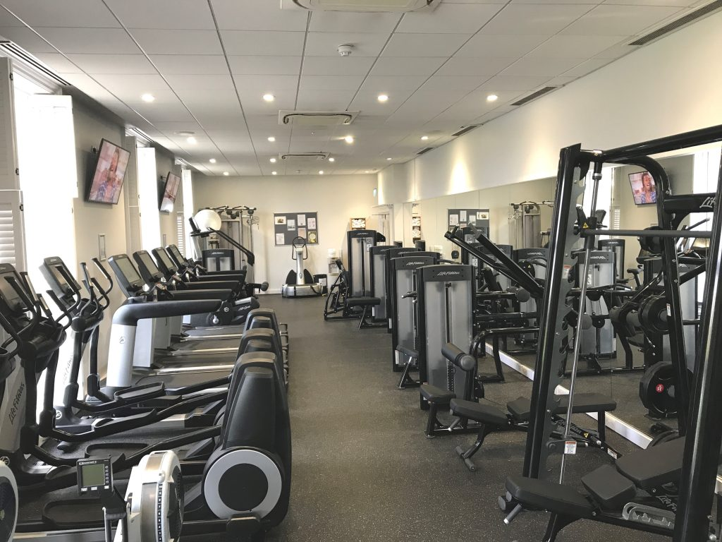 the gym at Greenwoods Hotel and Spa, luxury country hotel and spa essex